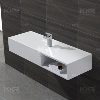 Resin Wall Mounterd Becken KKR-1365